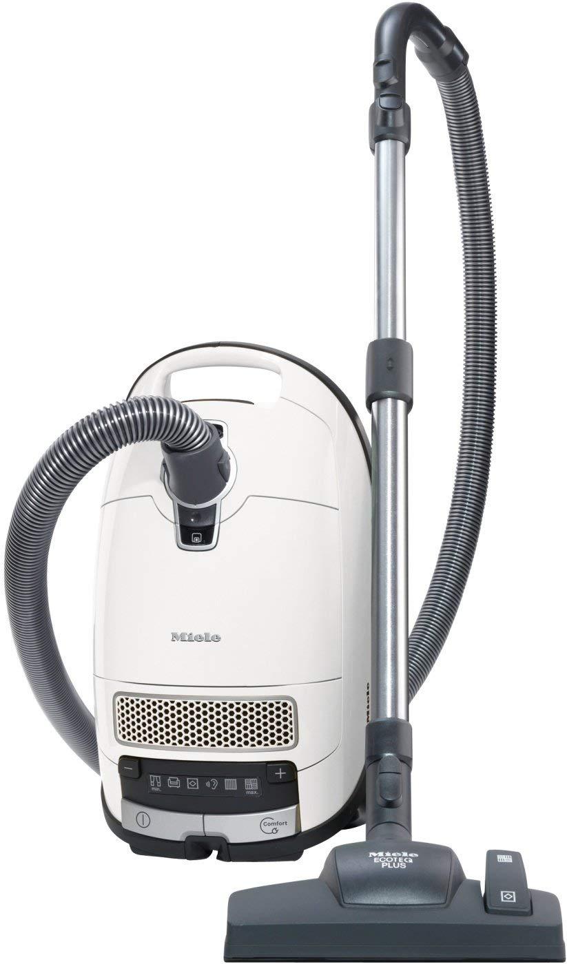 Miele Aspirateur Complete C3 Silence EcoLine Blanc Lotus 4.5 Litre 550 Watt
