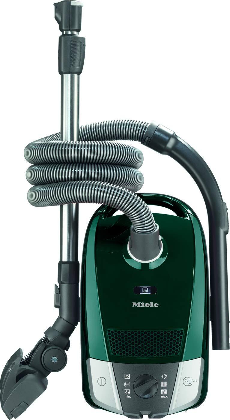 Miele Compact C2 Excellence EcoLine Aspirateur traineau avec sac (Classe énergétique A+, 550W, 11 m de rayon d'action, 72 dB(A), poignée XXL)