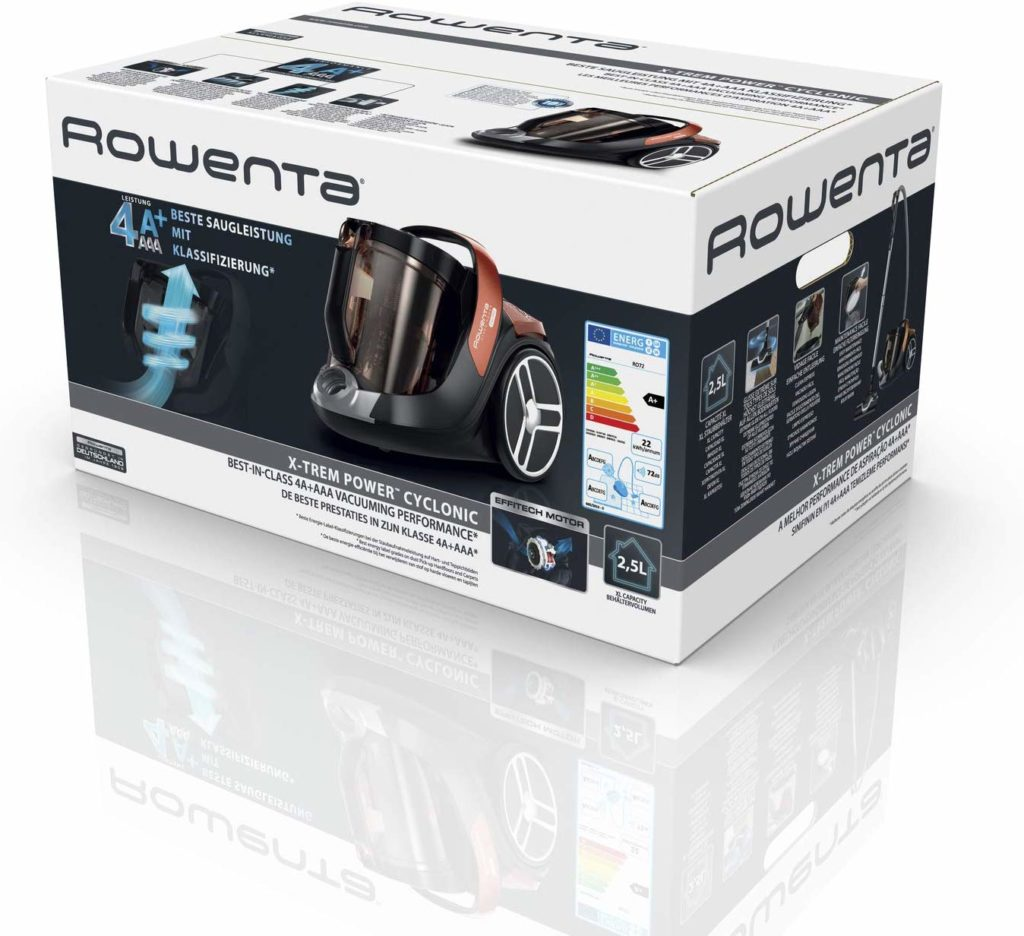 rowenta-ro7244-boite d'emballage