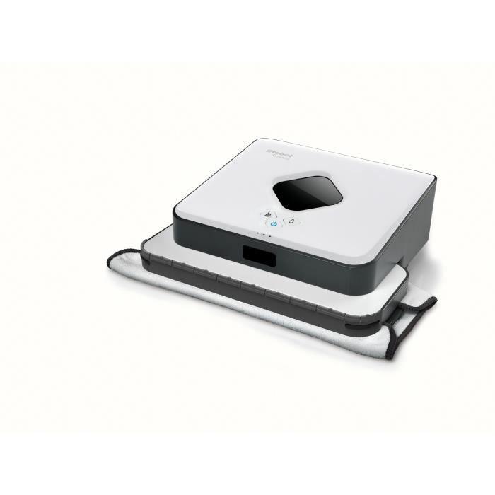 iRobot Braava 390t Robot Nettoyeur laveur