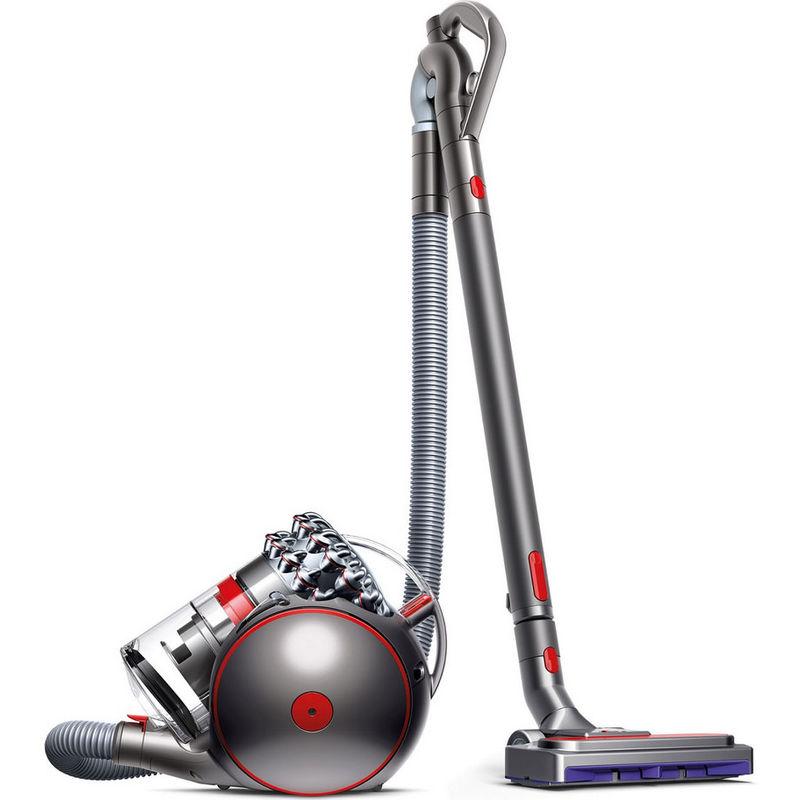 aspirateur sans sac acba 80db gris/rouge - cinetic big ball absolute 2 - dyson