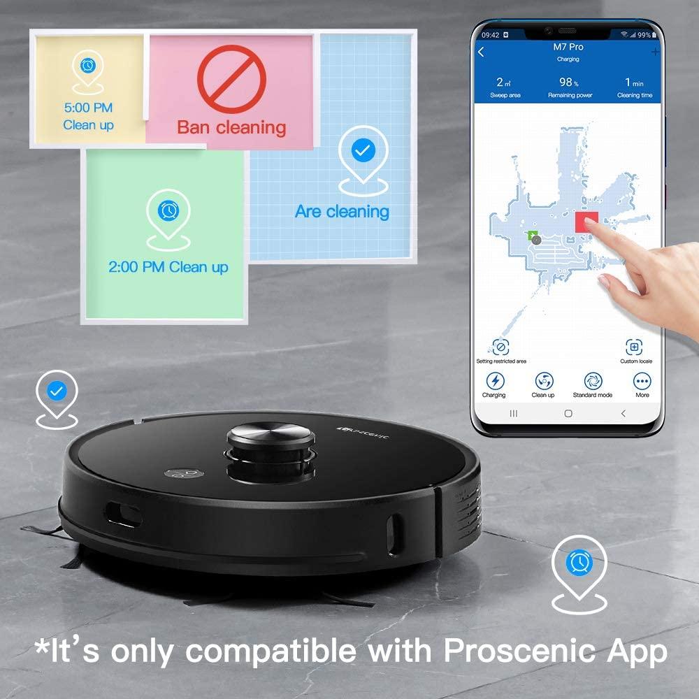 proscenic-m7pro-connectivité