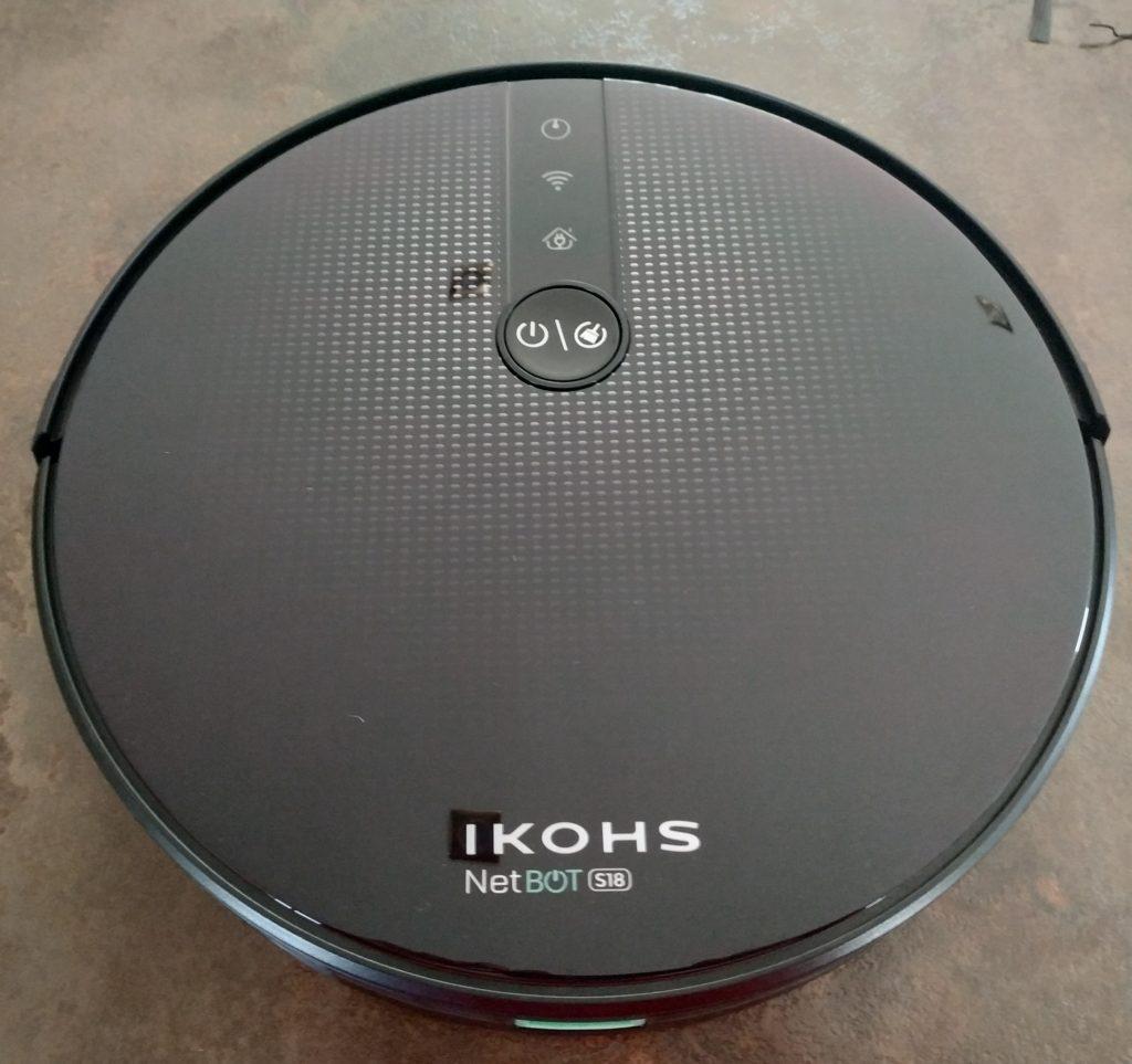 Avis sur le robot aspirateur IKOHS NETBOT S18